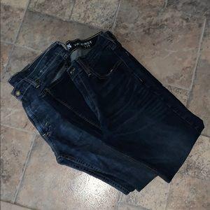 "Levi's jeans lot 34""x 30"" skinny & straight"